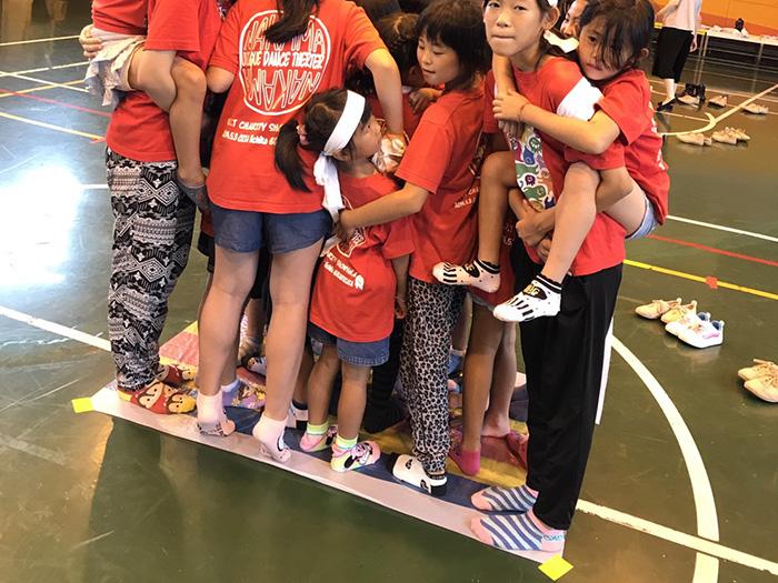 イベントをチーム団結して楽しむ生徒